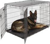 Hondenbench - Zwart - XXL - 121 x 74 x 81 cm