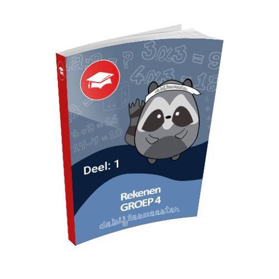 Oefenboek Groep 4 Rekenen - Deel 1 - De Bijlesmeester | Fthsonline.com
