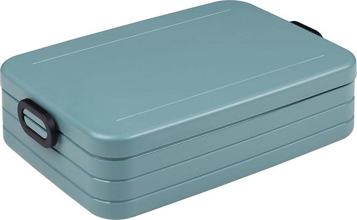 Mepal – Lunchbox Take a Break large – Geschikt voor 8 boterhammen – Nordic green – Lunchbox voor vol