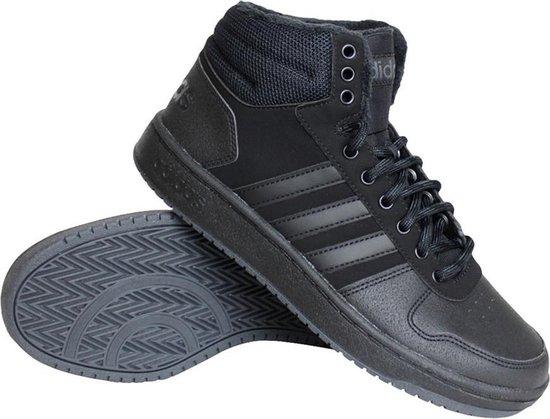 bol.com | adidas Hoops 2.0 Mid sneakers heren zwart -45 1/3