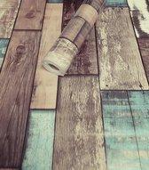 Fotobehang - Zelfklevende folie - Houten planken