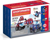 Magformers Amazing Police & Rescue Set - 26 Onderdelen - Magnetisch speelgoed