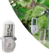Grundig Waterdicht Digitale Thermometer Met Zuignap | Buiten Thermometer | Outdoor Thermometer |Inclusief Batterij
