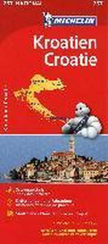 Michelin Nationalkarte Kroatien 1:750 000