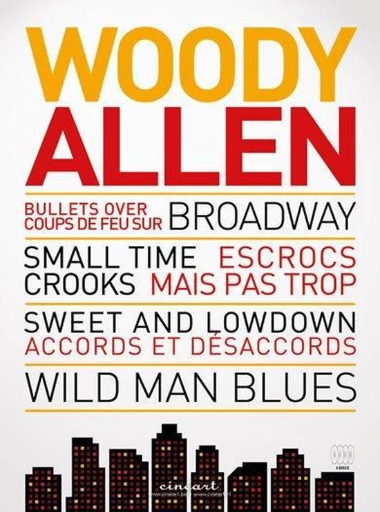 Cover van de film 'Woody Allen Box 2'