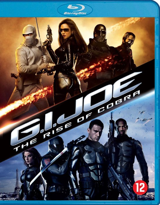Cover van de film 'G.I. Joe: The Rise Of Cobra'