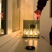 Excel Waxinelichtjeshouder Infinity Light 9 cube