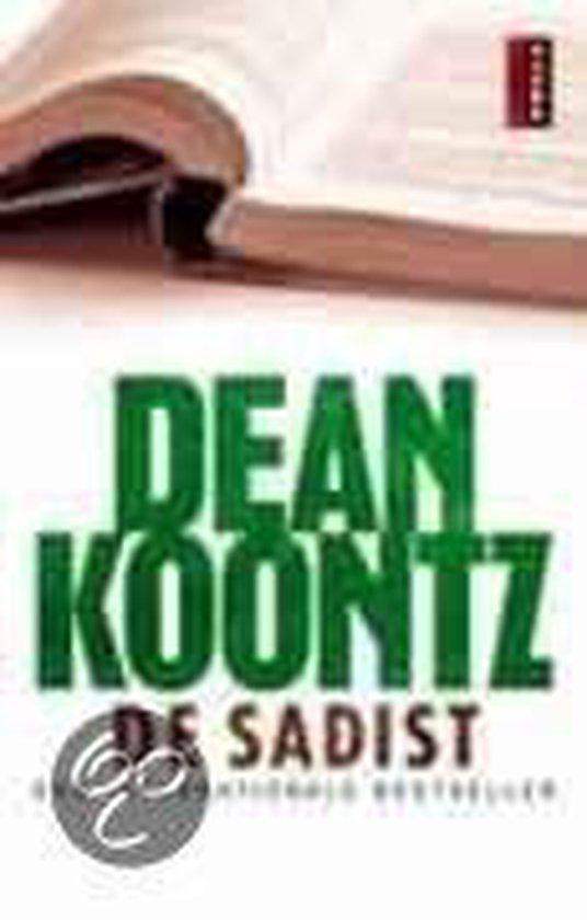 De Sadist - Dean Koontz |
