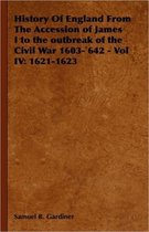 History Of England From The Accession of James I to the Outbreak of the Civil War 1603-'642 - Vol IV
