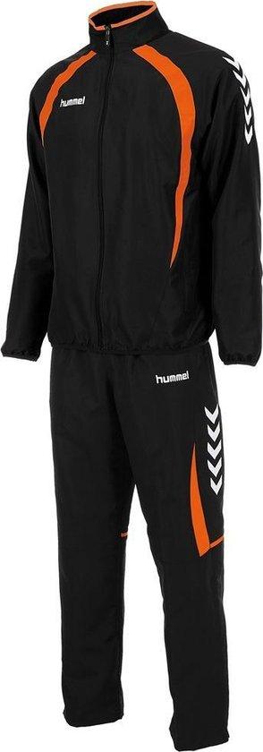 hummel Team Micro Suit Junior Trainingspak - Zwart - Maat 164