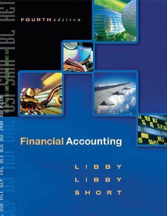 Boek cover Financial Accounting van Robert Libby (Onbekend)