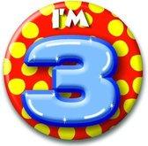 Button 3 jaar (55 mm)