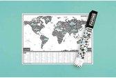 Luckies Wereldkaart Scratch Map Of The Fucking World