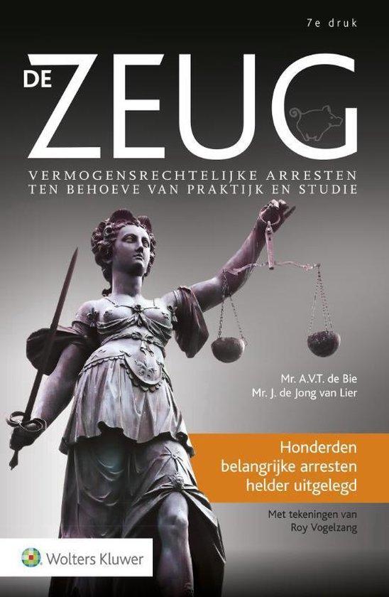 Boek cover De zeug van A.V.T. de Bie (Paperback)