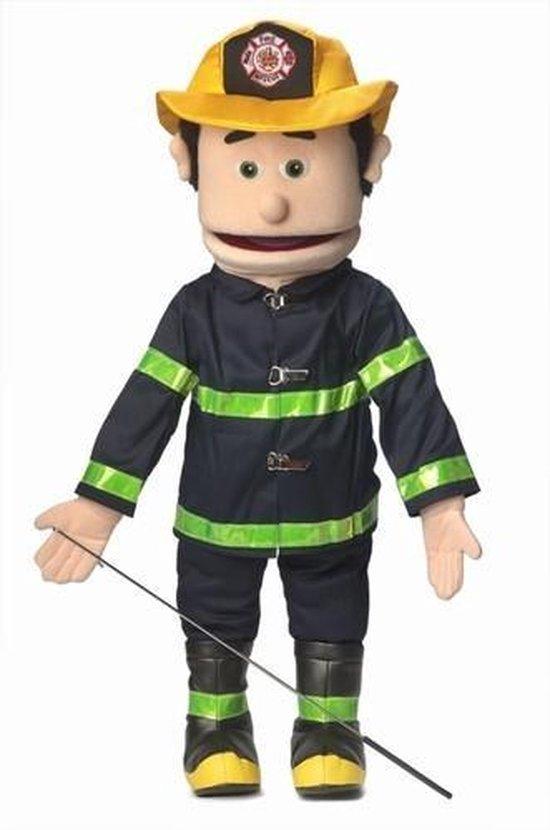 Handpop Brandweerman Sillypuppets 25''