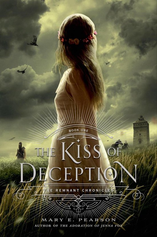 Boek cover The Kiss of Deception van Mary E Pearson (Onbekend)