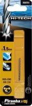 Piranha HI-TECH metaalboor 2x 1,5mm X50751