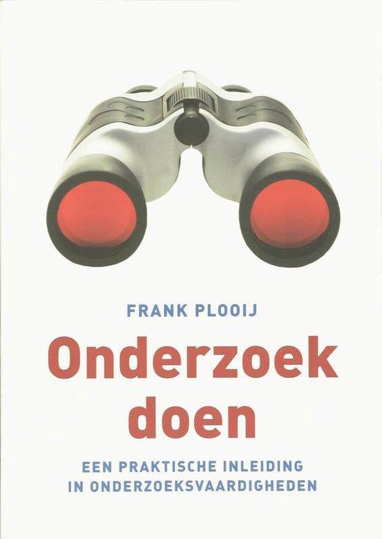 Onderzoek Doen - Frank Plooij |