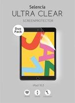 Selencia Duo Pack Screenprotector voor de iPad 10.2 (2019 / 2020)
