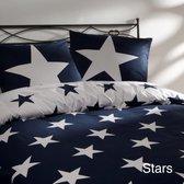 Day Dream Stars - dekbedovertrek - lits-jumeaux - 240 x 200/220 - Blauw