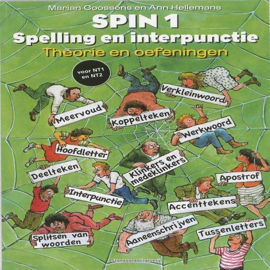 Boek cover SPIN 1 Spelling en interpunctie Theorie en oefeningen van Marian Goossens