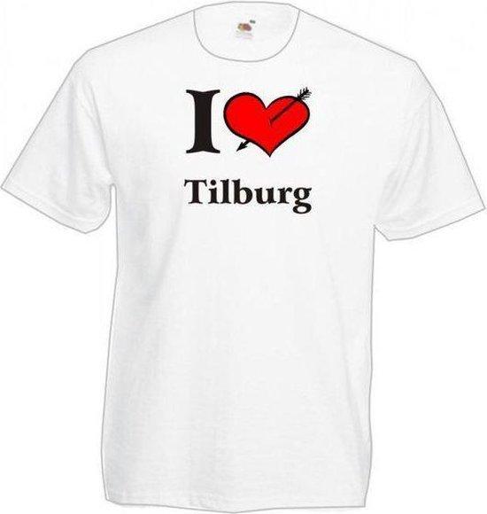 Mijncadeautje T-shirt WIT (maat XL) - Tilburg