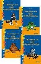 Arbeitsbögen zum Kieler Rechtschreibaufbau. Gesamtausgabe. Teile 1-4