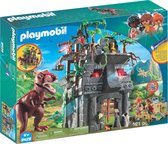 PLAYMOBIL Dinos Basiskamp van de avonturiers met T-Rex - 9429