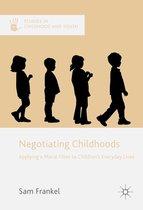 Omslag Negotiating Childhoods