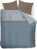 Beddinghouse Diamante - Dekbedovertrek - Eenpersoons - 140x200/220 cm - Blauw