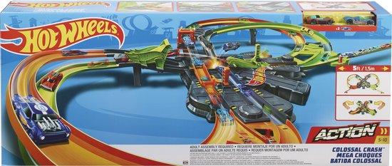 Hot Wheels Action Gigantische Achtvormige Botsing - Racebaan