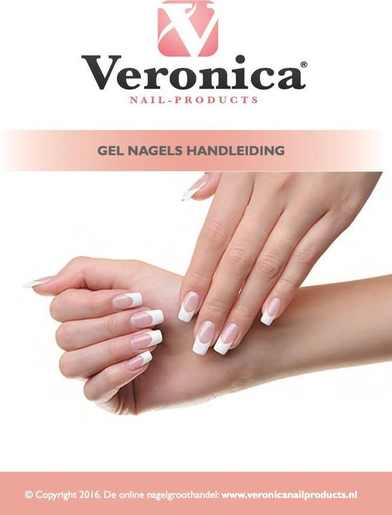 Veronica Nail Products - French manicure Gelnagels - Starterspakket