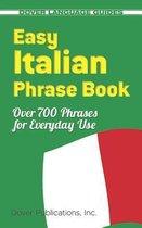 Boek cover Easy Italian Phrase Book van Dover