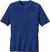 Patagonia M's Capilene 2LW T-shirt - heren - thermoshirt - blauw - maat L