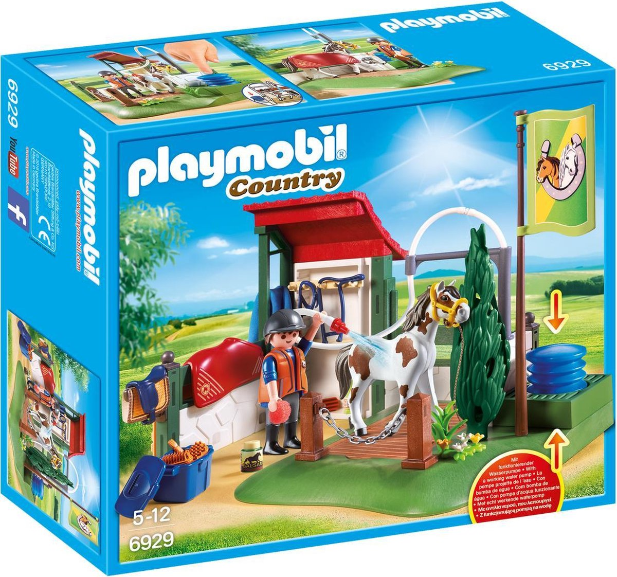 PLAYMOBIL Country Paardenwasplaats - 6929
