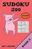 Sudoku 200 Schwer Mit L sung Band 2