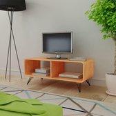 vidaXL TV-meubel 90 x 39 x 38,5 cm hout bruin