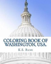 Coloring Book of Washington, USA.