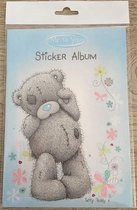 Stickeralbum Me To You - Blauw