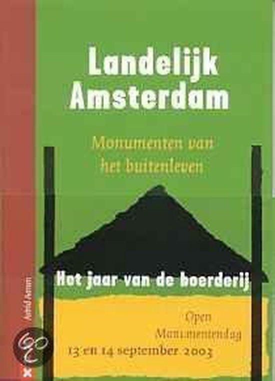Cover van het boek 'Landelijk amsterdam'