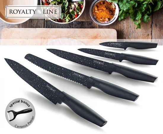 Royalty Line Messenset - 6 delig - Non Stick Coating