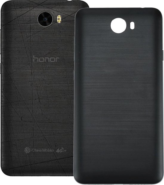 Let op type!! For Huawei Honor 5 Battery Back Cover(Black)