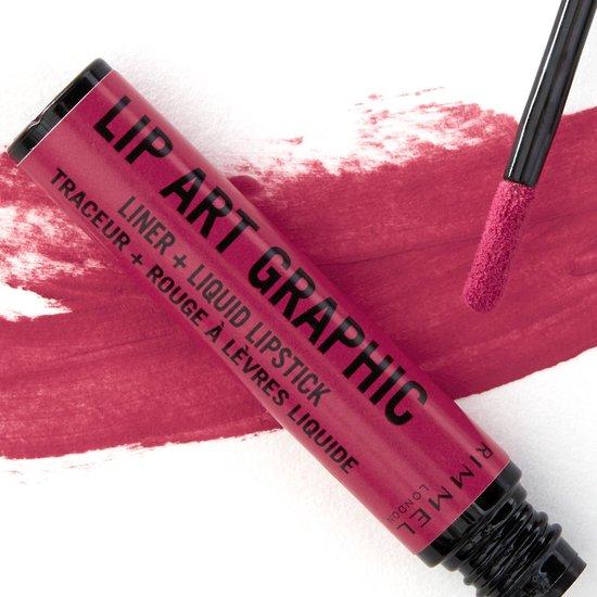 Rimmel Lip Art Graphic Lippenstift - 110 Vibez