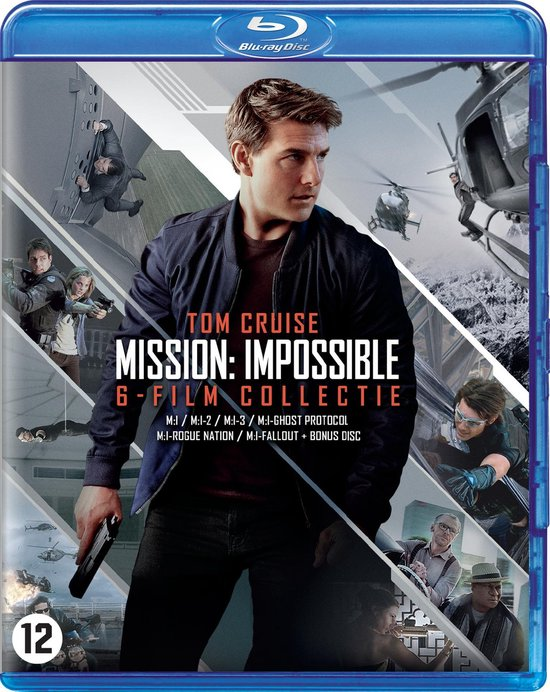 Mission: Impossible 1 t/m 6 (Blu-ray)