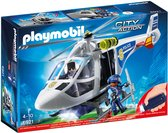 PLAYMOBIL City Action Politiehelikopter met LED-zoeklicht - 6921