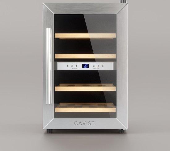 Koelkast: Cavist - Wijnkoelkast - 12 flessen, van het merk Cavist