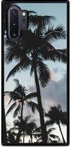 Galaxy Note 10 Plus Hardcase hoesje Palmtrees