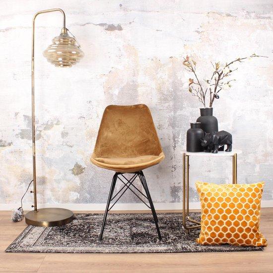 DS4U® velvet kuipstoel - limited edition - velours - stof - goud