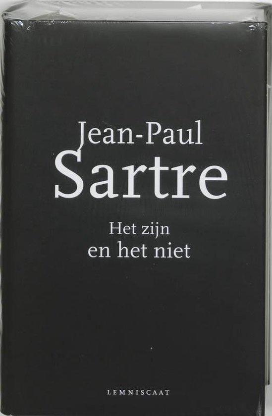 Boek cover Het zijn en het niet van Jean-Paul Sartre (Hardcover)
