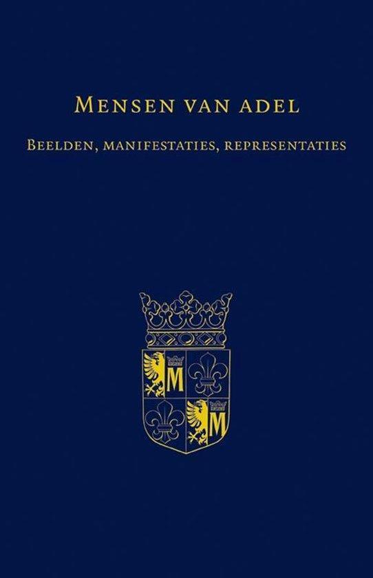 Boek cover Adelsgeschiedenis 4 -   Mensen van adel van Onbekend (Hardcover)